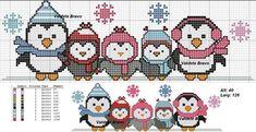 Xmas Cross Stitch, Beaded Cross Stitch, Cross Stitch Borders, Cross Stitch Baby, Cross Stitch Animals, Cross Stitch Charts, Cross Stitch Designs, Cross Stitching, Cross Stitch Embroidery