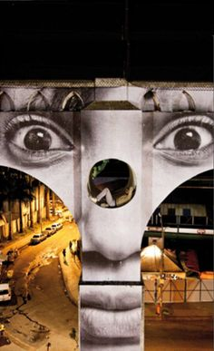 JR - the most amazing street art photographer in the world!! I LOVE YOU!