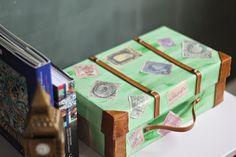 Como fazer malas de viagem antiga com caixas de sapato