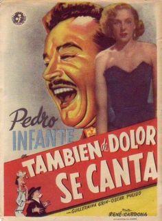 Pedro Infante - También de dolor se canta (1950) - Cine Mexicano Epoca de Oro