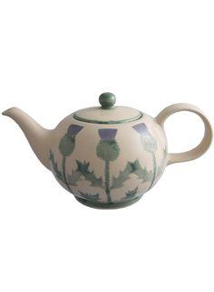 Cream Thistle - Teapot | ANTA - made in Scotland