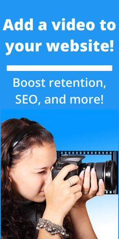 Why You Should Add Video to Your Website Make Money Online, How To Make Money, How To Become, Seo Strategy, Success And Failure, Your Website, Online Income, Promote Your Business, Affiliate Marketing