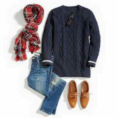 Jeans- blue sueter