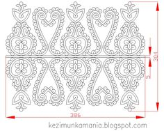 Kézimunkáim Folk Embroidery, Embroidery Patterns, Sewing Patterns, Folk Art, Coloring Pages, Arms, Collage, Symbols, Stitch