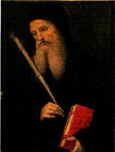 PietroPeregino-St-Benedict-1495-98.jpg (258×342) - the face of Leonardo da Vinci
