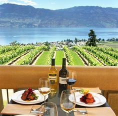 10 Best Patios In Kelowna - British Columbia Magazine Things To Do In Kelowna, Places To Travel, Places To Go, Lakeside Restaurant, Canadian Travel, Western Canada, Vacation Destinations, Vacations, Banff