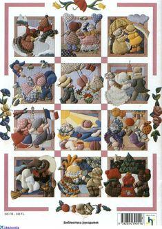 Revista patchwork de isopor