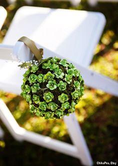 Succulent Pomanders