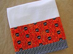 HALLOWEEN Flour Sack Towel  Halloween Kitchen Dish by Jambearies