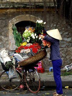 Florist on wheels.
