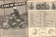 8 x 10 cm x 27 cm) each page. Vintage Indian Motorcycles, Enfield Motorcycle, Magazine Articles, Royal Enfield, Conditioner