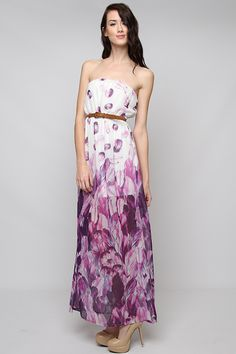 Madeline Orchid Maxi
