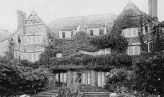 Voewood House photographed in the 1920s