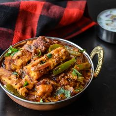 Handi Paneer Dhaba Style >>HAVE MADE.. fast and easy and absolutely delicious! Loads of flavour and heaps of heat! Mopped up that gorgeous sauce with homemade naan.  ~Janie<<