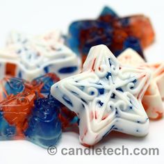 Independence day is right around the corner. We thought we'd throw a patriotic twist on M&P Chunk Soaps. Instructions for makingMelt and Pour Chunk Soapscan be found in thesoap making basicssection under the Bath and Body tab of this…Read more ›