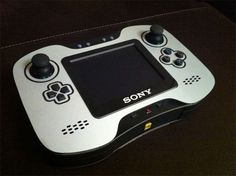 Modded PS2 into Handheld
