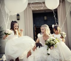 White Wedding Balloons