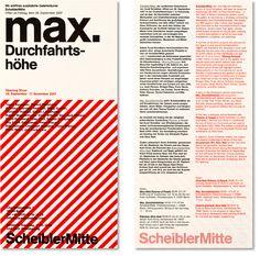 Berlin Series of invitations