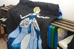 A personal favorite from my Etsy shop https://www.etsy.com/listing/292942181/stained-glass-princess-quilt