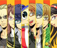 Persona 4 - Love this game! The art style, the colors, the music...they're all so great!
