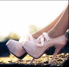 bordello's pink shoes