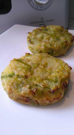 Découvrez les recettes Cooking Chef et partagez vos astuces et idées avec le Club pour profiter de vos avantages. http://www.cooking-chef.fr/espace-recettes/legumes-et-accompagnements/rostis-poireaux-pommes-de-terre