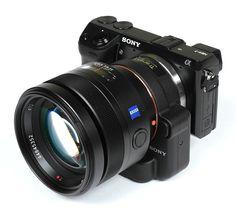 Clunky, but *gorgeous* images - Zeiss ZA Planar T* 85mm f/1.4 (SAL-85F14Z) on Sony NEX