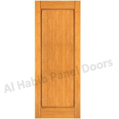 Solid Single Panel Door Hpd485 - Solid Wood Doors - Al Habib Panel Doors