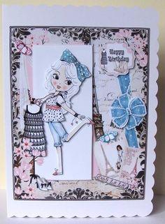 Ooh La Fashion Anna by Margaret McCartney