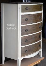 Beautiful furniture redo. like the color with wood