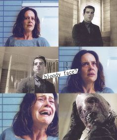 Bloody Face - American Horror Story