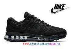 huge discount 7b561 7fa8e Nike Air Max 2017 Vintage Uranium Sport Sneakers Hommes Noir 849559-004-Nike  Boutique de Chaussure Baskets Site Officiel boutiquenike2018.fr