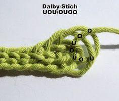 Nadelbinden : Dalby-Stich