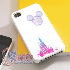Disney World Phone Case For iPhone 4/4s Cases, iPhone 5 Cases, iPhone 5S/5C Cases, iPhone 6 cases & Samsung Galaxy S2/S3/S4/S5 Cases
