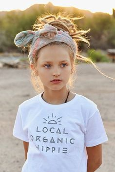 Local organic hippie tee is the cutest thing we have ever seen! All printed on eco-friendly tees with eco-friendly ink.