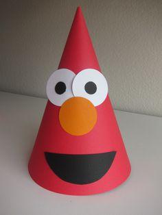 Elmo Birthday Sesame Street Party Hats