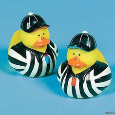 "Referee Rubber Ducks were so important to the sports ducks, but have long retired. Retired and out of pro""duck""tion."