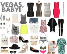 How to Pack for Vegas in a Carry On