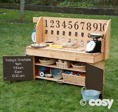 I love this idea! Even bringing math outdoors Maths Eyfs, Eyfs Classroom, Outdoor Classroom, Outdoor School, Numeracy, Early Years Maths, Early Years Classroom, Early Math, Early Learning