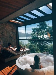 25 awesome inground hot tub ideas that will drop your jaw 00004 - josh-hutcherson Future House, My House, Dream Home Design, My Dream Home, Inground Hot Tub, Jacuzzi, Deco Zen, House Goals, Dream Rooms