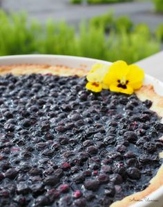 Most Delicious Recipe, Sweet Pie, Pie Recipes, Tart, Blueberry, Yummy Food, Baking, Fruit, Desserts