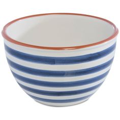 Shiraleah Porto Mixing Bowl ($26) ❤ liked on Polyvore featuring home, kitchen & dining, kitchen gadgets & tools, blue, shiraleah, blue mixing bowls and blue mixing bowl