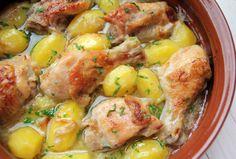 Jamie Oliver, Potato Salad, Potatoes, Healthy Recipes, Dishes, Chicken, Ethnic Recipes, Foods, Mariana