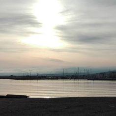 Διακοπτόμενα σύννεφα σήμερα #rethymnon #crete #greece by fotinisamaritaki