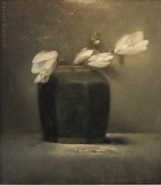 "Pieter Knorr, ""Magnolia"", Olieverf op paneel, 2015 Life Inspiration, Painting Inspiration, Magnolia Gardens, Contemporary Abstract Art, Henri Matisse, Soft Colors, Graphic Design Art, Asian Art, Flower Art"
