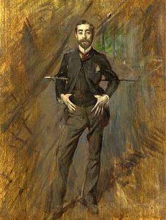 Boldini, Giovanni (1842-1931) - 1890 Portrait of the Artist John Singer Sargent (Christie's New York, 2003) by RasMarley, via Flickr