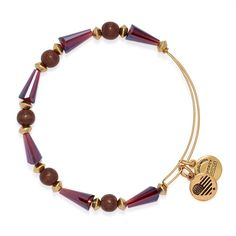 Pomegranate Seeds of Promise Beaded Bangle | ALEX AND ANI