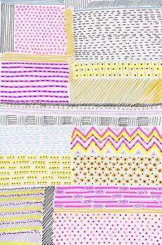 Blink Blink   Handmade Patterns print pattern