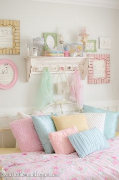 from dark and dingy to fit for a princess, bedroom ideas, home decor, painting
