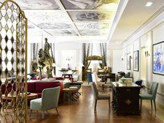 The Pousada de Lisboa – Praça do Comércio is a luxurious and historic Lisbon hotel part of the Small Luxury Hotels of the World™ (SLH). Portugal Destinations, Hotels Portugal, Portugal Travel, Small Luxury Hotels, Most Luxurious Hotels, Spas, Lisbon Accommodation, Lisbon Hotel, Lisbon City